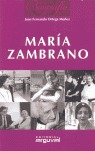 BIOGRAFÍA DE MARÍA ZAMBRANO