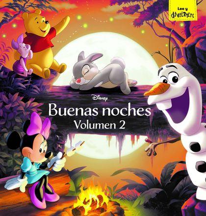 DISNEY. BUENAS NOCHES. VOLUMEN 2. RECOPILATORIO DE CUENTOS