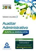 AUXILIARES ADMINISTRATIVOS JUNTA ANDALUCÍA TEMARIO 2.