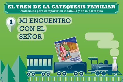 EL TREN DE LA CATEQUESIS FAMILIAR. 1                                            MATERIALES PARA