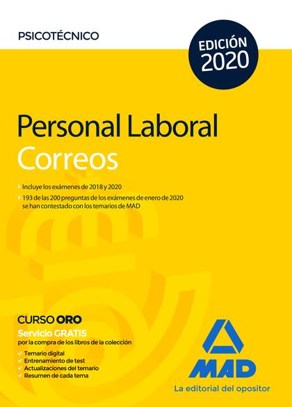 PERSONAL LABORAL DE CORREOS Y TELÉGRAFOS. PSICOTÉCNICO.
