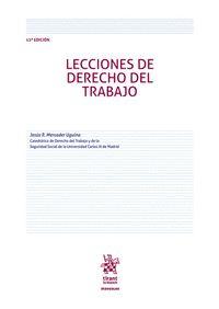 LECCIONES DE DERECHO DEL TRABAJO ( 12ª EDICION ).