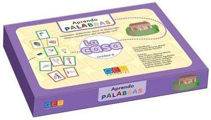APRENDO PALABRAS 8. LA CASA