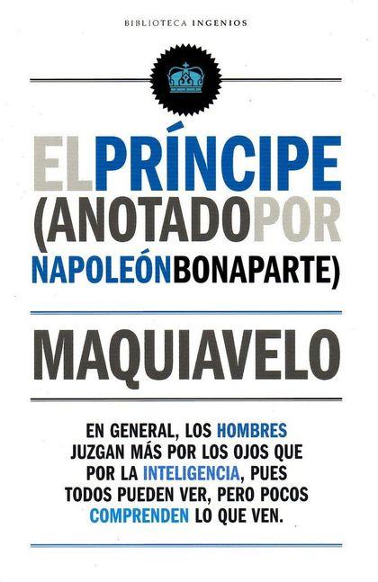 PRINCIPE EL. ANOTADO POR NAPOLEÓN BONAPARTE