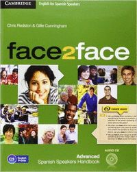 FACE2FACE ADVANCED FOR SPANISH SPEAKERS (2ND ED). STUDENT´S BOOK +DVD+ONLINE WB