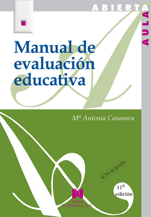 MANUAL EVALUACION EDUCATIVA