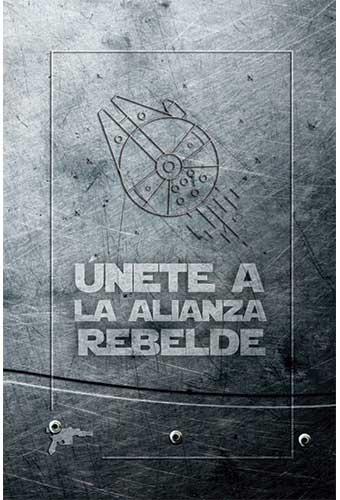 BLOC DE NOTAS STAR WARS - HALCÓN MILENARIO