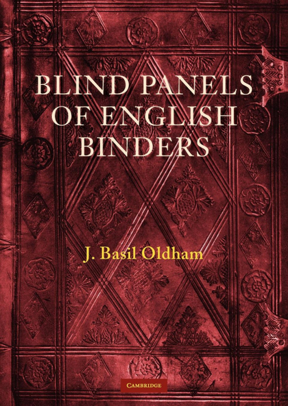 BLIND PANELS OF ENGLISH BINDERS