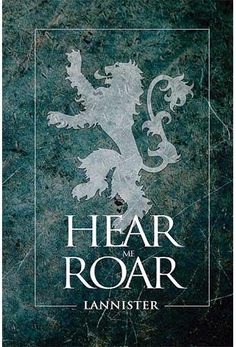 BLOC DE NOTAS GAME OF THRONES - HEAR ME ROAR