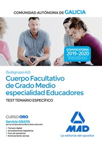 CUERPO FACULTATIVO DE GRADO MEDIO DE LA COMUNIDAD AUTÓNOMA DE GALICIA (SUBGRUPO.