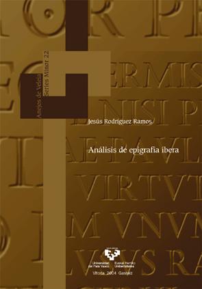 ANALISIS DE EPIGRAFIA IBERA