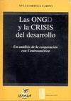 Las ONGD y la crisis del desarrollo un análisis de la cooperación con