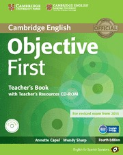 OBJECTIVE FIRST CERTIFICATE RESOURCES+CD+CDROM