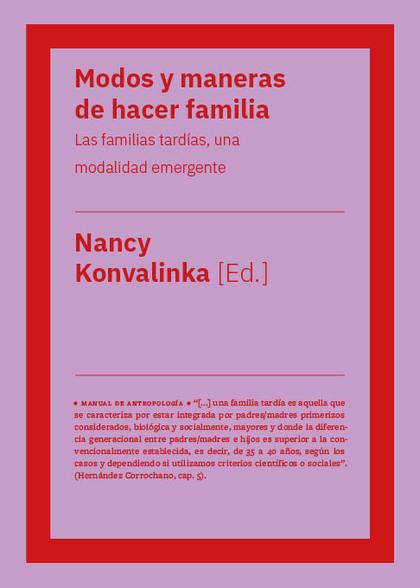 MODOS Y MANERAS DE HACER FAMILIA                                                LAS FAMILIAS TA