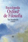 ENCICLOPEDIA OXFORD DE FILOSOFÍA