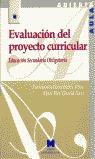 EVALUACIÓN DEL PROYECTO CURRICULAR DE EDUCACIÓN SECUNDARIA OBLIGATORIA