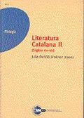 LITERATURA CATALANA II (SIGLOS XVI-XIX).