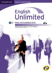 ENGLISH UNLIMITED FOR SPANISH SPEAKERS, PRE-INTERMEDIATE