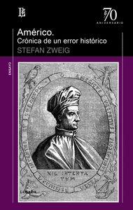 AMERICO CRONICA DE UN ERROR HISTORICO