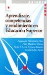 APRENDIZAJE, COMPETENCIAS Y RENDIMIENTO EN EDUCACIÓN SUPERIOR