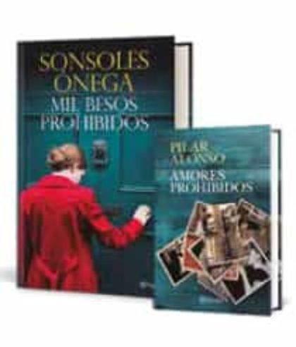 PACK TC - MIL BESOS PROHIBIDOS. INCLUYE EL LIBRO AMORES PROHIBIDOS DE PILAR ALONSO