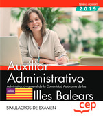 AUXILIAR ADMINISTRATIVO. ADMINISTRACIÓN GENERAL DE LA COMUNIDAD AUTÓNOMA DE LAS