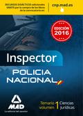 INSPECTOR POLICIA NACIONAL 2016