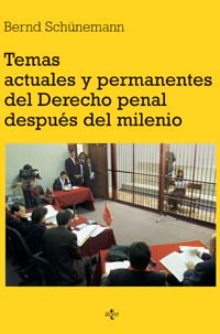 Temas actuales y permanentes del Derecho penal después del milenio