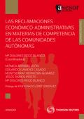 LAS RECLAMACIONES ECONÓMICO-ADMINISTRATIVAS EN MATERIAS DE COMPETENCIA DE LAS COMUNIDADES AUTÓN