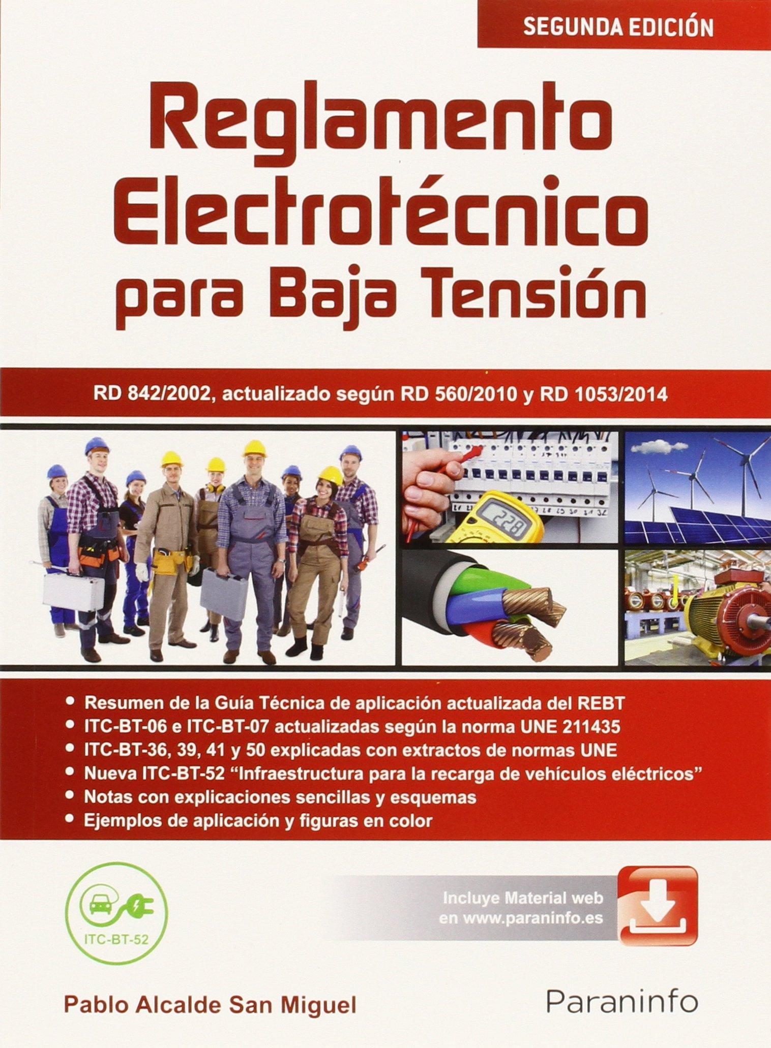 REGLAMENTO ELECTROTÉCNICO PARA BAJA TENSIÓN - EDICIÓN 2015.