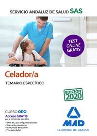 CELADOR;A DEL SERVICIO ANDALUZ DE SALUD. TEMARIO ESPECÍFICO