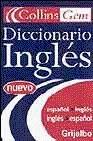 DICCIONARIO COLLINS GEM INGLÉS-ESPAÑOL