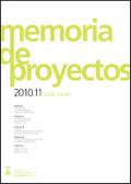 MEMORIA DE PROYECTOS 2010-11.