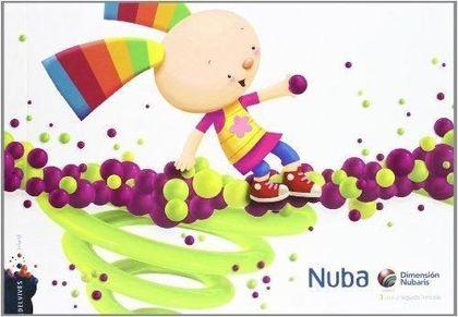 DIMENSIÓN NUBARIS, NUBA, EDUCACIÓN INFANTIL, 3 AÑOS. 2 TRIMESTRE