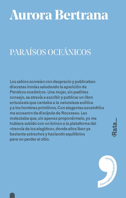 PARAÍSOS OCEÁNICOS.