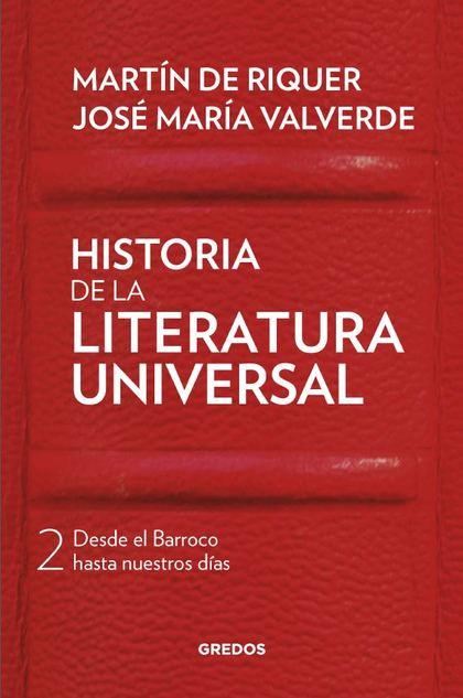 HISTORIA DE LA LITERATURA UNIVERSAL, VOL.2
