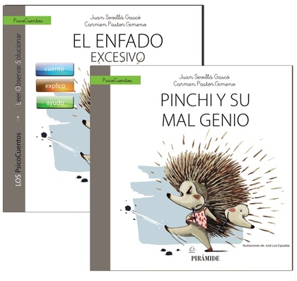 GUÍA: EL ENFADO + CUENTO: PINCHI Y SU MAL GENIO.