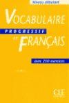 VOCABULAIRE DU FRANCAIS  DEBUTANT