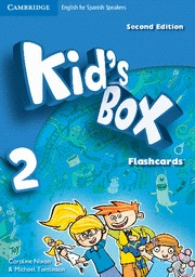 KID S BOX 2 FLASHCARDS FOR SPANISH SPEAKERS (SECOND EDITION)