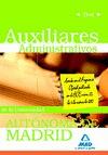 AUXILIARES ADMINISTRATIVOS, UNIVERSIDAD AUTÓNOMA DE MADRID. TEST