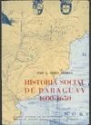 HISTORIA SOCIAL DE PARAGUAY (1600-1650)