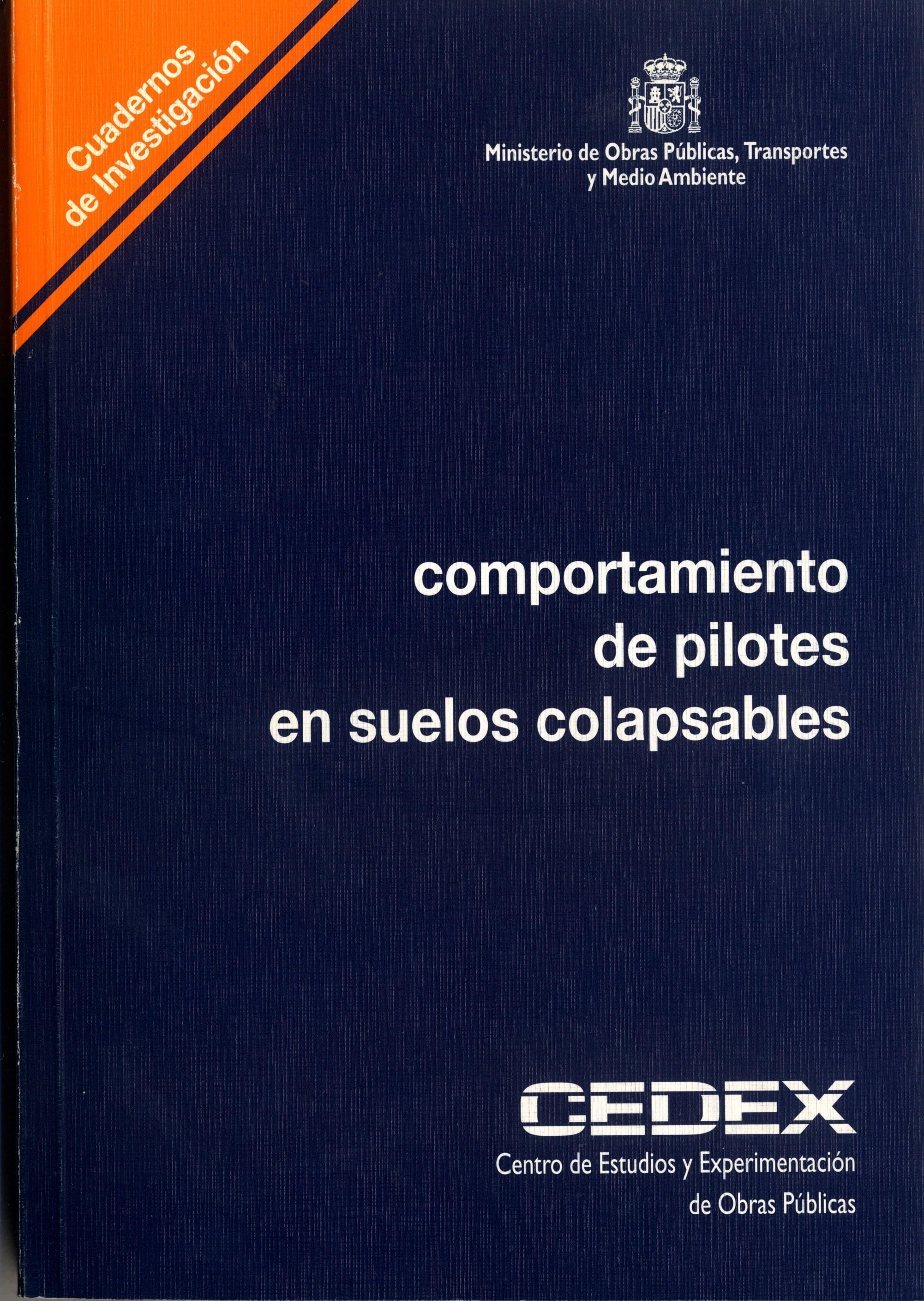 COMPORTAMIENTO PILOTES SUELOS COLAPSABLES
