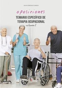 TEMARIO ESPECIFICO DE TERAPIA OCUPACIONAL-VOLUMEN I