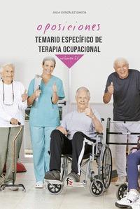 TEMARIO ESPECIFICO DE TERAPIA OCUPACIONAL-VOLUMEN II