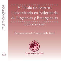 V TÍTULO DE EXPERTO UNIVERSITARIO EN ENFERMERÍA DE URGENCIAS Y EMERGENCIAS