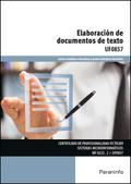 ELABORACIÓN DE DOCUMENTOS DE TEXTO.