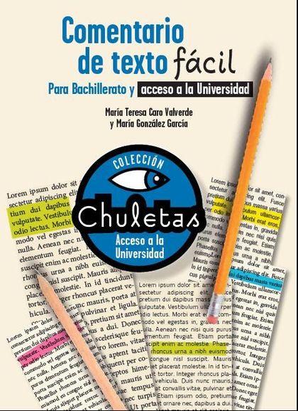 COMENTARIO DE TEXTO FÁCIL PARA BACHILLERATO