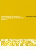 BUENAS PRÁCTICAS INSTITUCIONALES : DIAGNÓSTICO GENERAL Y PROPUESTAS DE MEJORA
