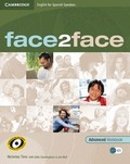 FACE2FACE FOR SPANISH SPEAKERS, ADVANCED.WORKBOOK WITH KEY