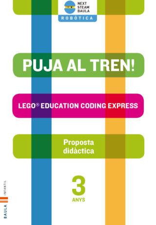 PD ROBÒTICA LEGO CODING EXPRESS INFANTIL 3 ANYS PUJA AL TREN!